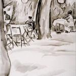 18 iosif iser la buturuga in gradina cismigiu2 150x150 Galerie foto Bucurestiul vechi: Din societate